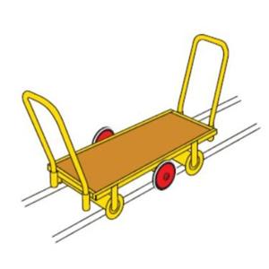 Landau sur rails 51x120